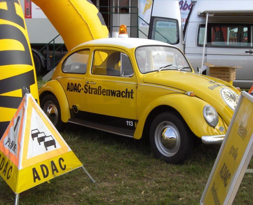 Oldtimer vom ADAC präsentiert
