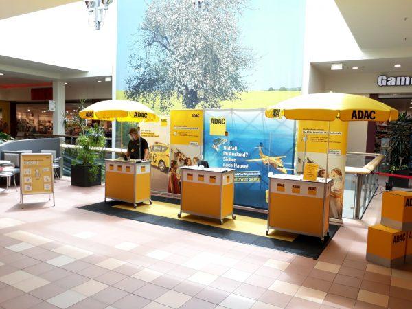 ADAC Vertriebsagentur Marita Günther präsent im Einkaufszentrum